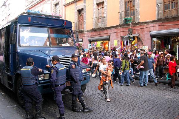 Police, Tijuana, Mexico