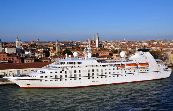 Cruise ship, Venice, Italy