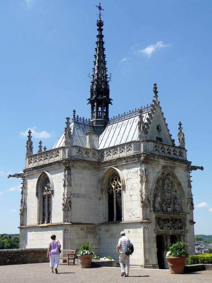 Leonardo Chapel, Château Royal d'Amboise, Amboise, France