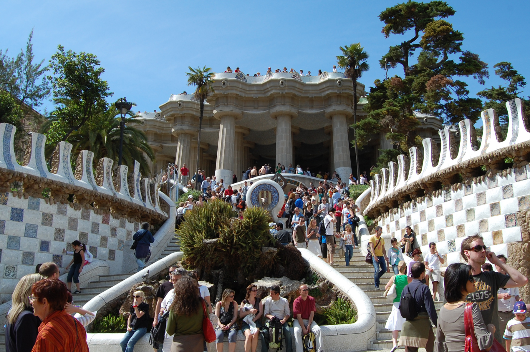 Park Guell Entry, Barcelona, Spain