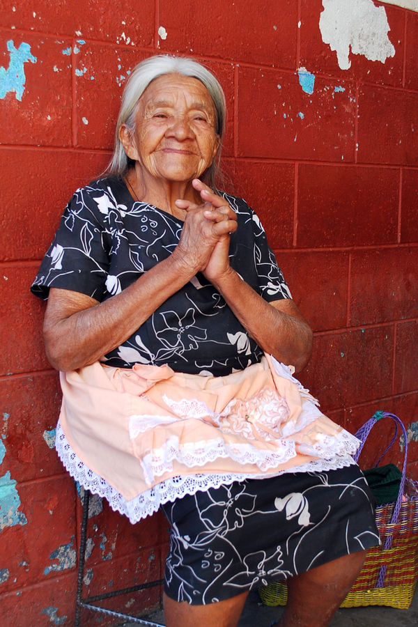 Old Woman, Mexico City