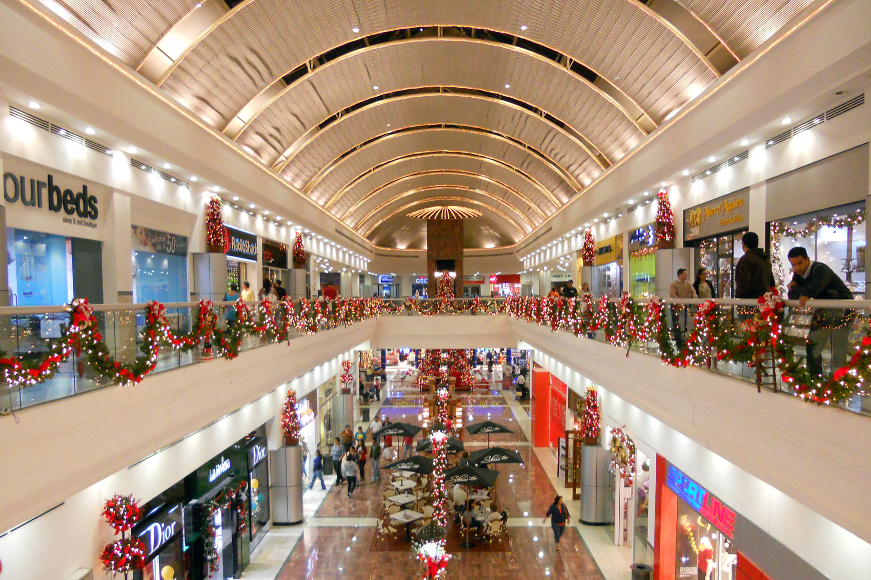 Upscale Shopping Mall in San Salvador, El Salvador