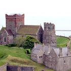 Dover Castle Setting, Dover, England