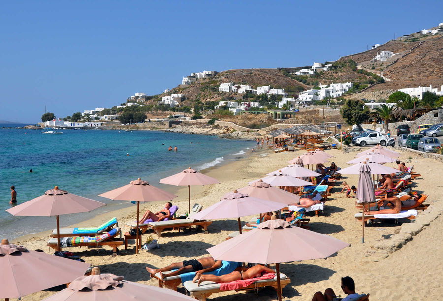 Agios Ioannis Beach, Mykonos, Greece