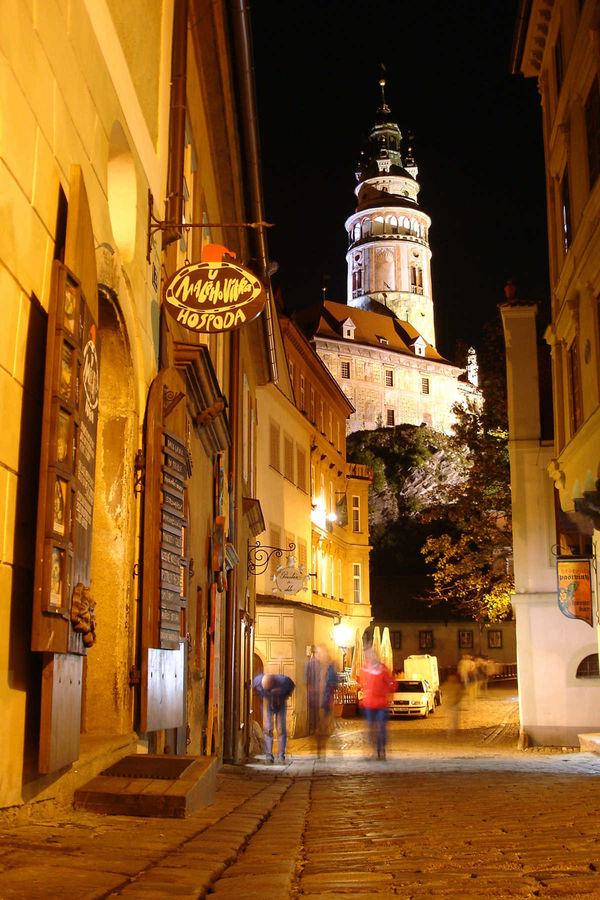 Round Tower, Český Krumlov, Czech Republic