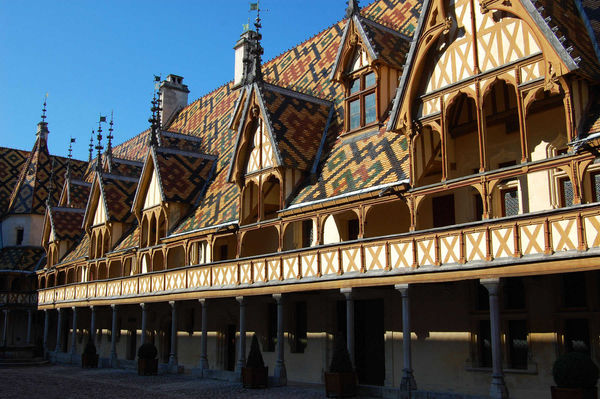 Hospice, Beaune, Burgundy, France