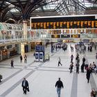 Train Station Interior, London, England