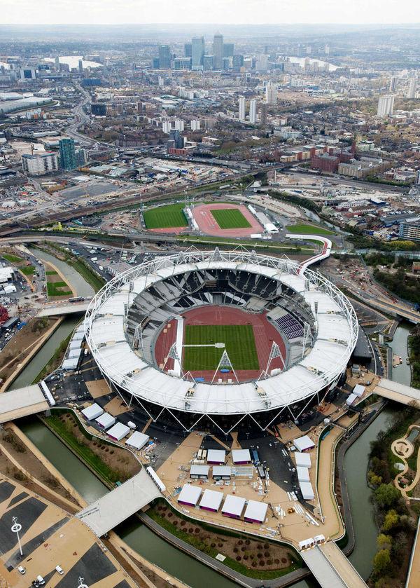 Olympic Stadium View, London, England