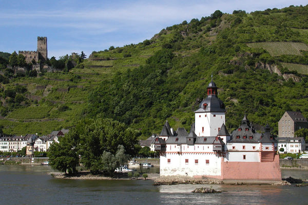 Burg Pfalz, Rhine Valley, Germany