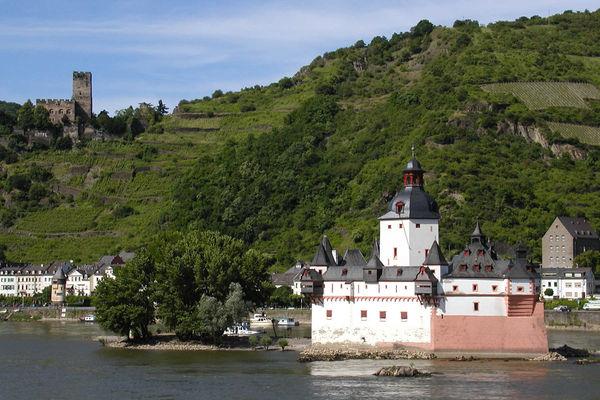 Burg Pfalz, Rhine Valley, Germany