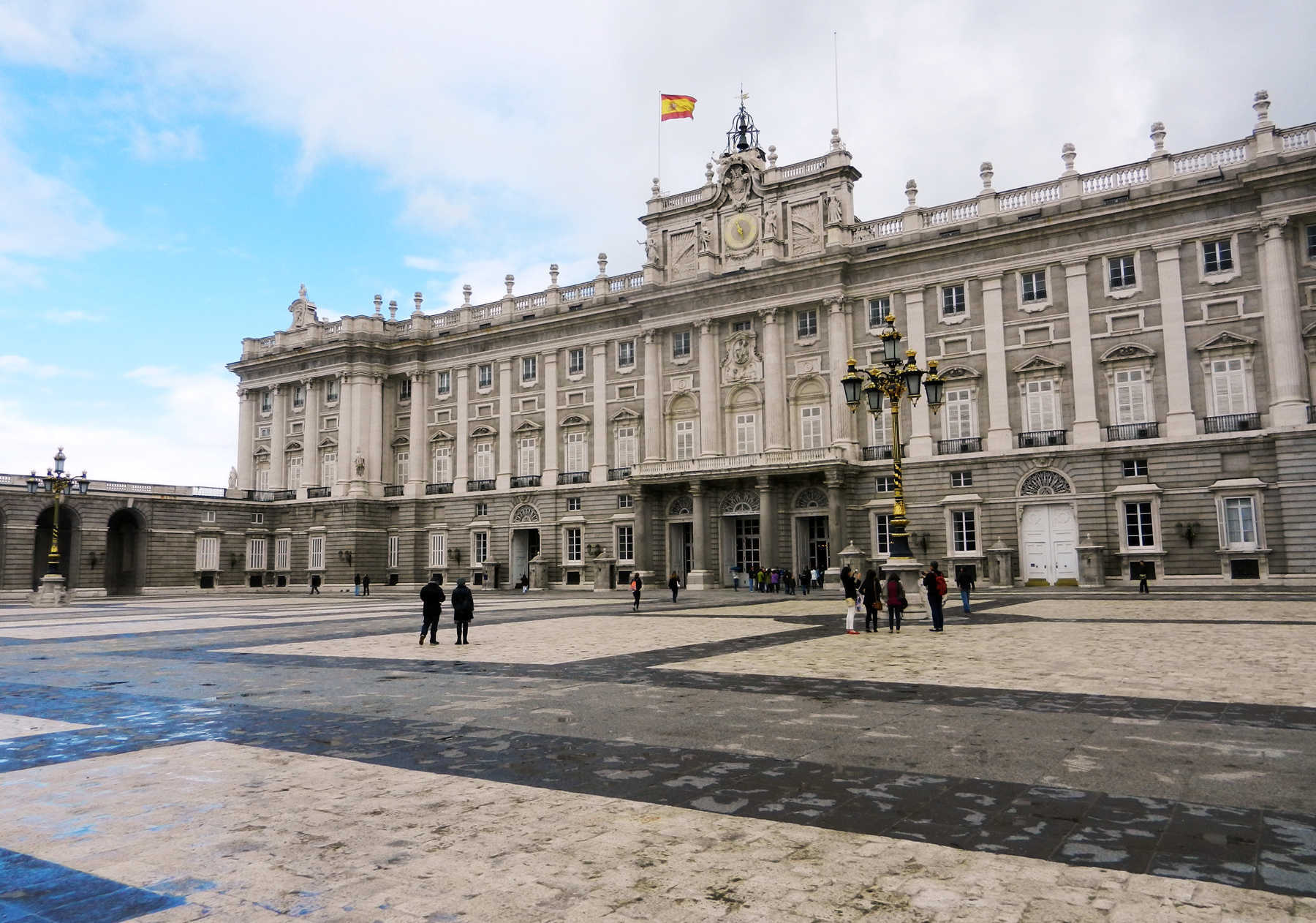 Royal Palace Exterior, Madrid, Spain