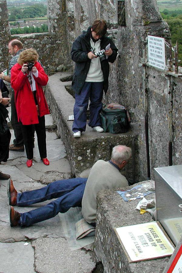 Blarney Stone, Blarney Castle, Ireland
