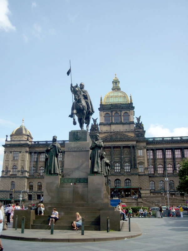 Wenceslas Square, Prague, Czech Republic