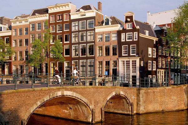 Canal bridge, Amsterdam, Netherlands