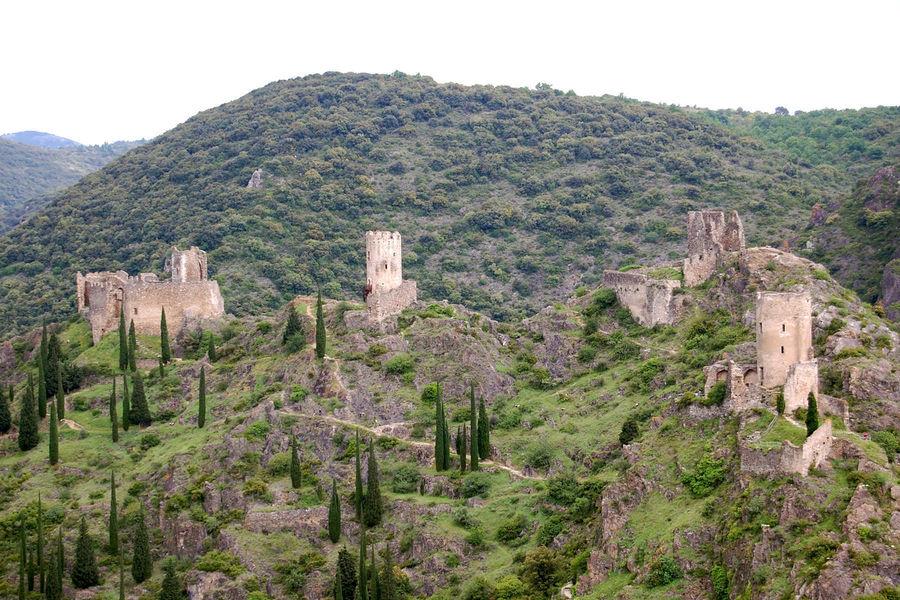 Châteaux of Latours, Languedoc-Roussillon, France