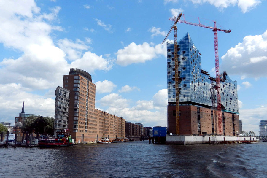 Elbphilharmonie concert hall, Hamburg, Germany