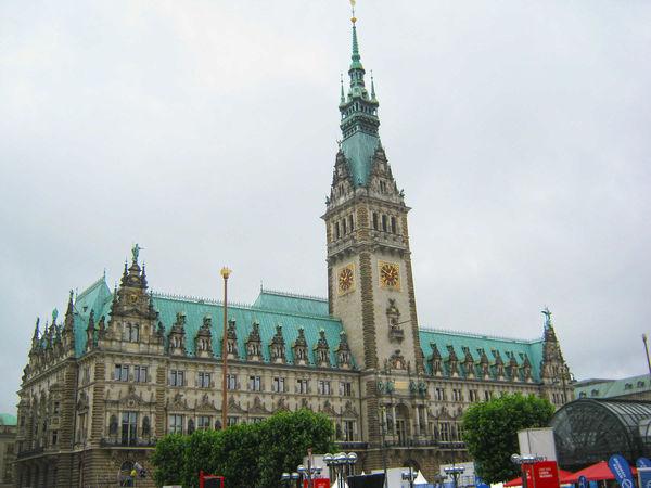 City Hall, Hamburg, Germany