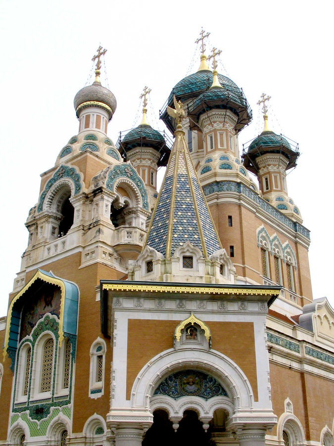 Russian Cathedral, Nice, France