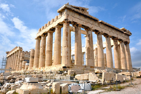 Parthenon Exterior, Athens, Greece