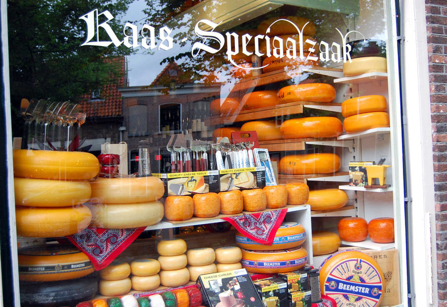 Cheese shop, Edam, Netherlands