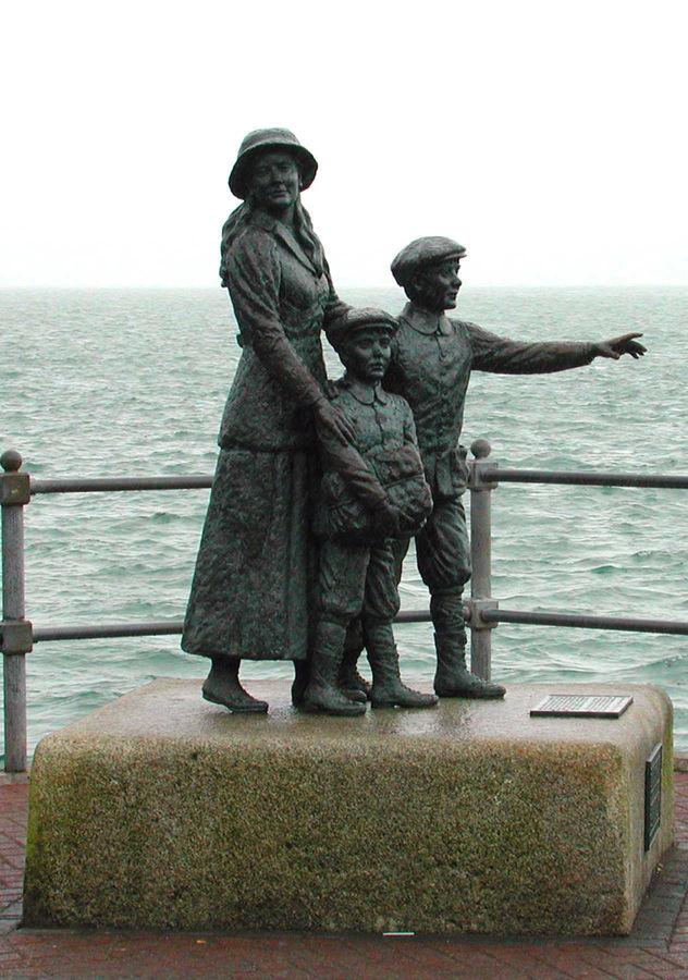 Annie Moore Statue, Cobh, Ireland