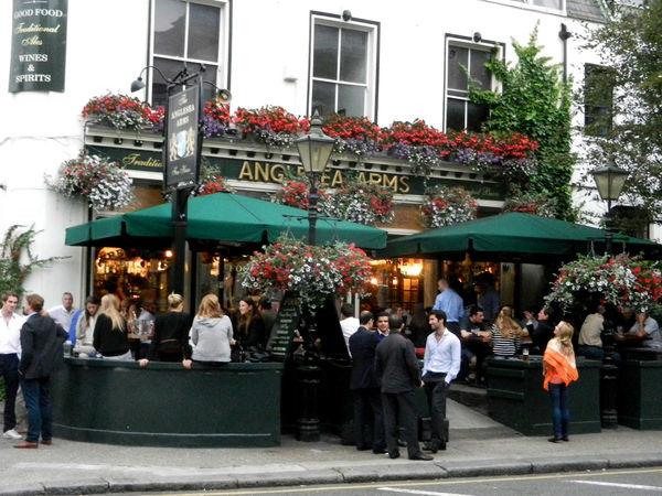 Anglesea Arms Pub Exterior, London, England