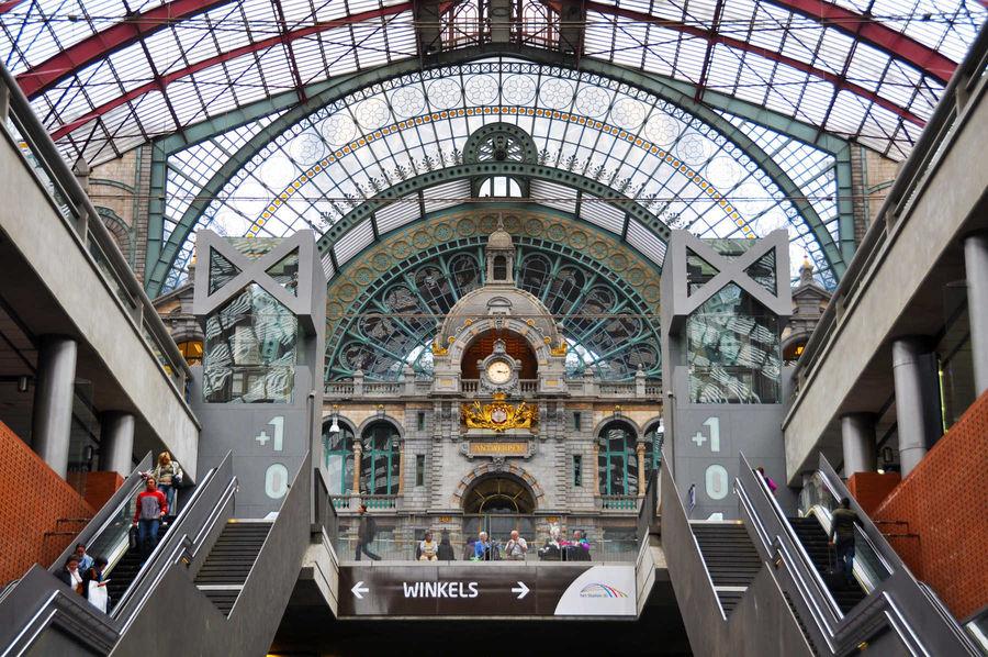 Central Station, Antwerp, Belgium