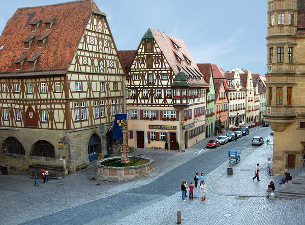 Market Square, Rothenburg ob der Tauber, Germany