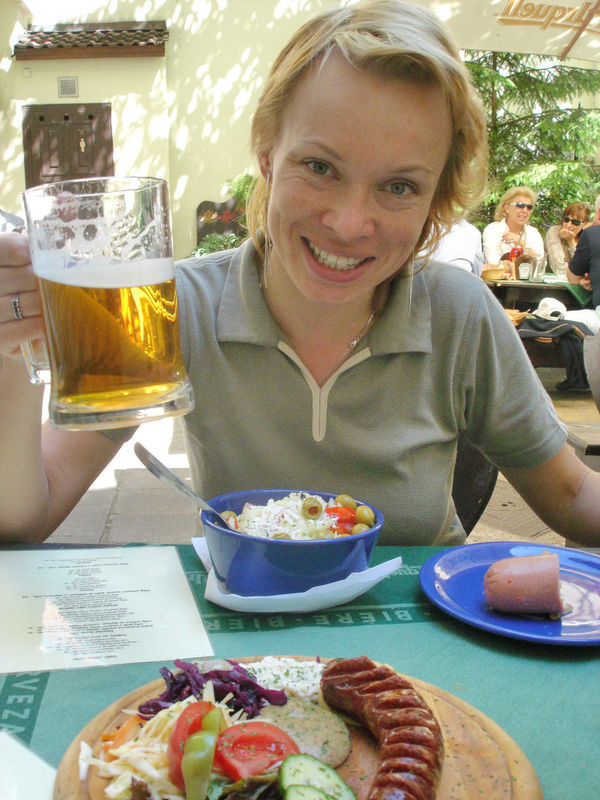 Czech lunch, Prague, Czech Republic