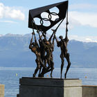 Olympic Sculpture, Lausanne, Switzerland