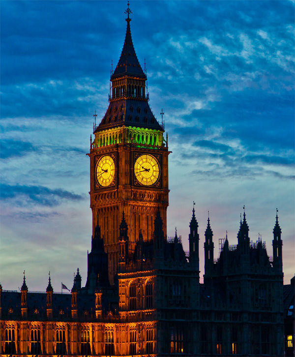 Elizabeth Tower (Big Ben), London, England