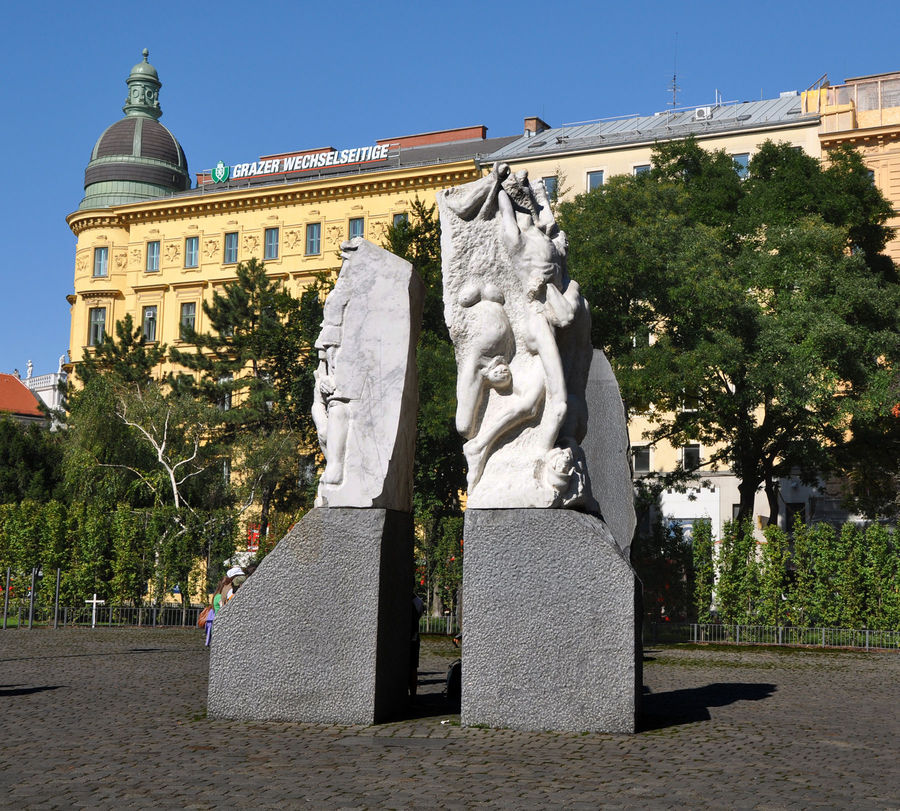 Monument Against War and Fascism, Vienna, Austria