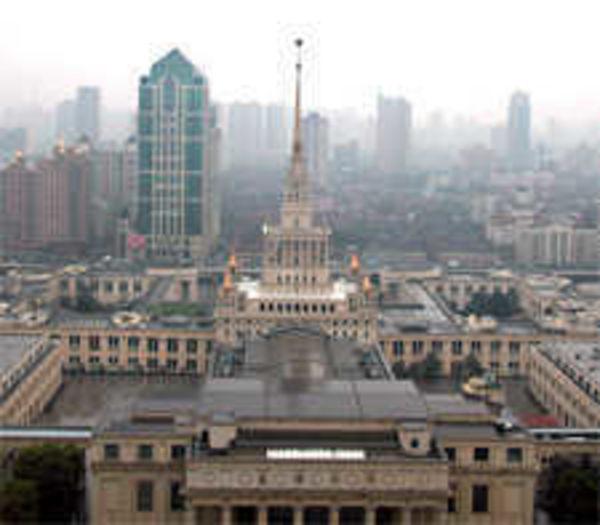 Sky-Scraping Shanghai
