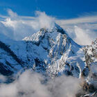 Alps view from Schilthorn, Berner Oberland, Switzerland