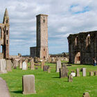 St. Andrews Cathedral ruin, Scotland