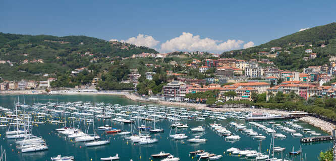 Harbor, Lerici (Italian Riviera), Italy