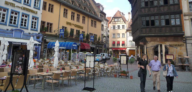 Place de la Cathédrale, Strasbourg, France