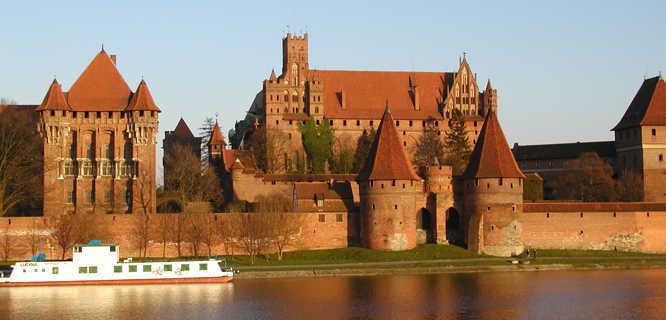 Malbork Castle (Pomerania), Poland