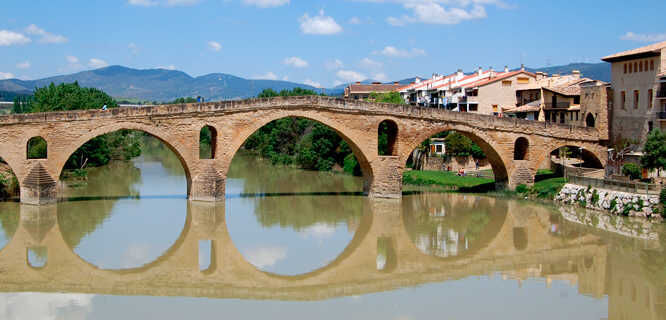 Bridge of the Queen, Puente la Reina, Spain
