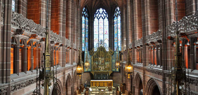 Anglican Cathedral, Liverpool, England