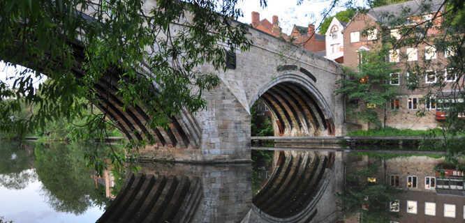 Framwellgate Bridge, Durham, England