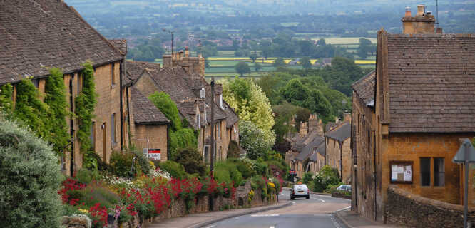 Bourton-on-the-Hill, England