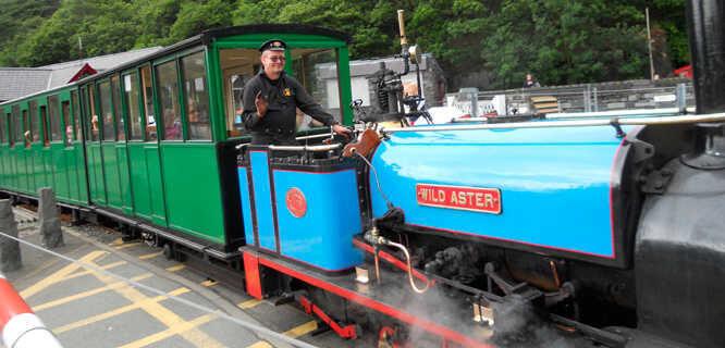 Ffestiniog Railway, Blaenau Ffestiniog, Wales