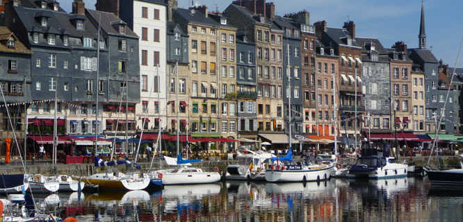 Harbor, Honfleur, France