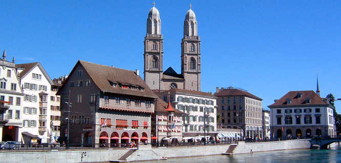 Grossmünster, Zürich, Switzerland