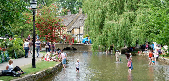Bourton-on-the-Water, England