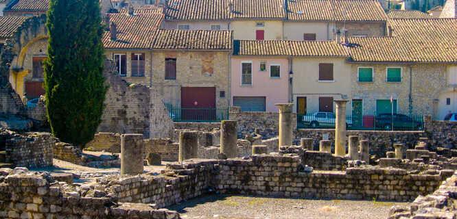 Roman ruins, Vaison-la-Romaine, France