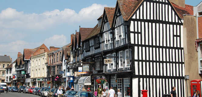High Street, Stratford-upon-Avon, England