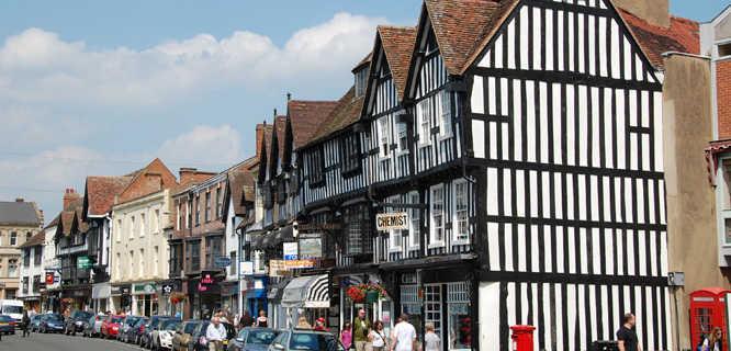 High Street, Stratford-upon-Avon, England