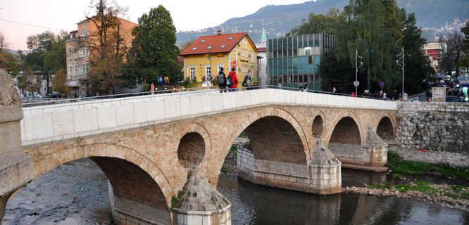 Latin Bridge, Sarajevo, Bosnia-Herzegovina